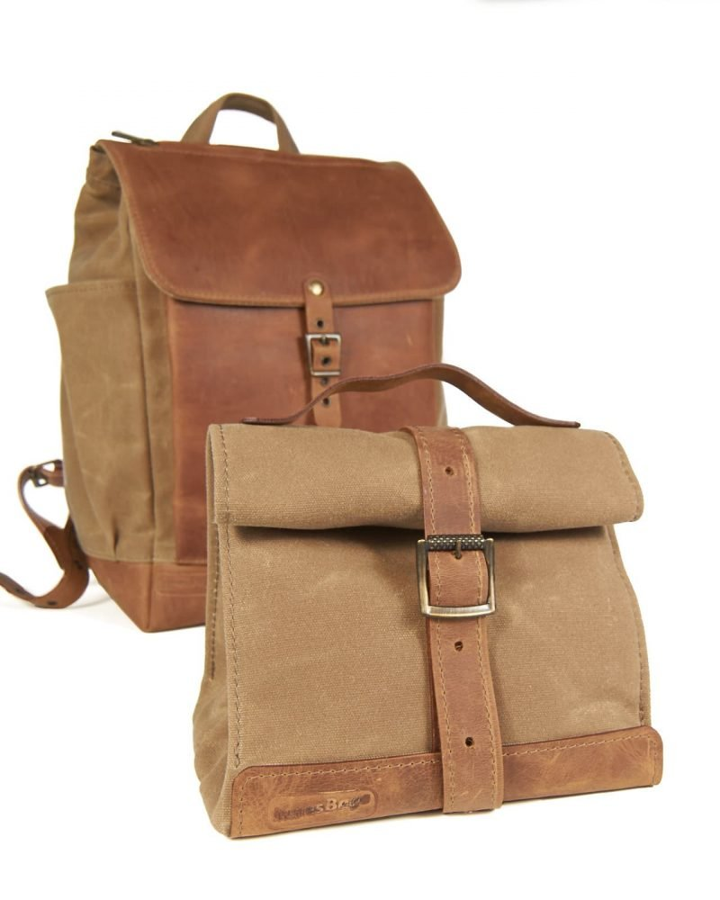 Backpack with a lunch bag set