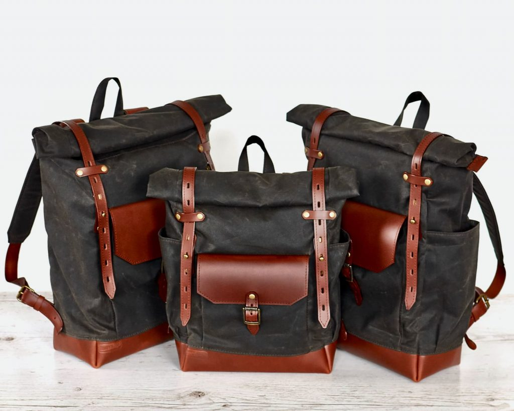 backpacks chocolate brown group