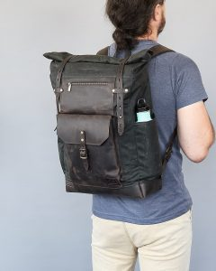 large backpack size man