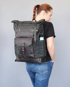 large backpack size woman